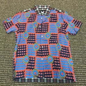 Marc by Marc Jacobs Flower & Plaid SS Button Up